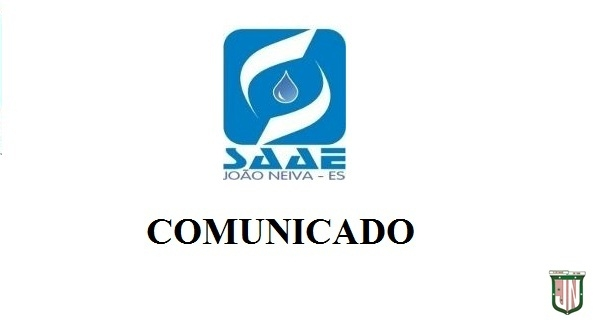 Comunicado do SAAE
